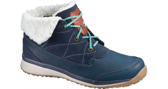 Salomon Hime Low Deep Blue/Light Grey/Emerald Green
